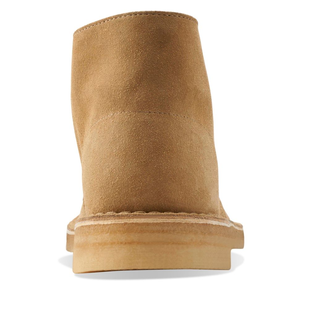 desert boot oakwood suede