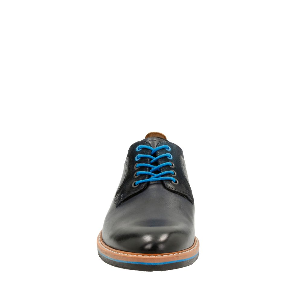 Pitney Walk Dark Blue Leather