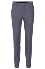 Hugo Boss 'Herdin' | Skinny Fit, Stretch Cotton Blend Cuffed Trousers