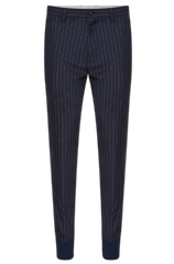 Hugo Boss 'Hyon' | Slim Fit, Virgin Wool Tapered Pinstripe Pants