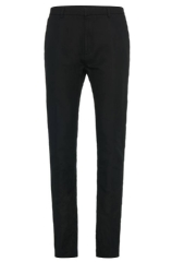 Hugo Boss 'Helgo-W' | Regular Fit, Linen Cotton Trousers