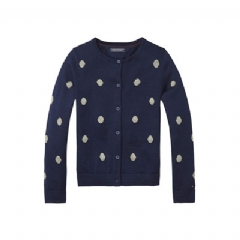 Tommy Hilfiger TH KIDS POLKA DOT CARDIGAN