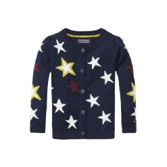 Tommy Hilfiger TH KIDS STAR CARDIGAN